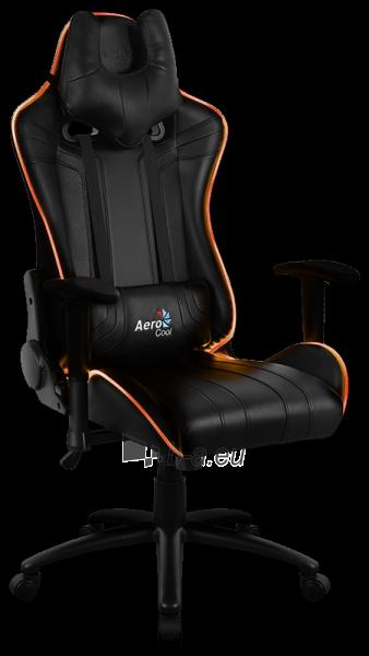 Žaidimų kėdė Aerocool AC-120 AIR RGB / Juoda Paveikslėlis 14 iš 15 310820172989