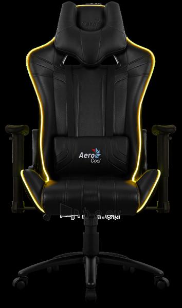 Žaidimų kėdė Aerocool AC-120 AIR RGB / Juoda Paveikslėlis 12 iš 15 310820172989