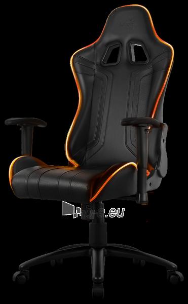 Žaidimų kėdė Aerocool AC-120 AIR RGB / Juoda Paveikslėlis 11 iš 15 310820172989
