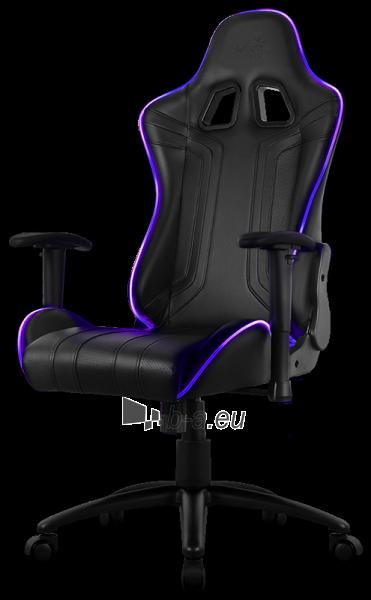 Žaidimų kėdė Aerocool AC-120 AIR RGB / Juoda Paveikslėlis 10 iš 15 310820172989