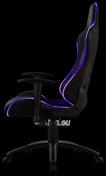 Žaidimų kėdė Aerocool AC-120 AIR RGB / Juoda Paveikslėlis 2 iš 15 310820172989