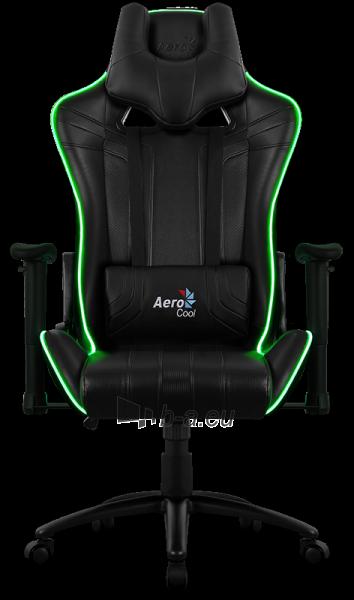 Žaidimų kėdė Aerocool AC-120 AIR RGB / Juoda Paveikslėlis 15 iš 15 310820172989