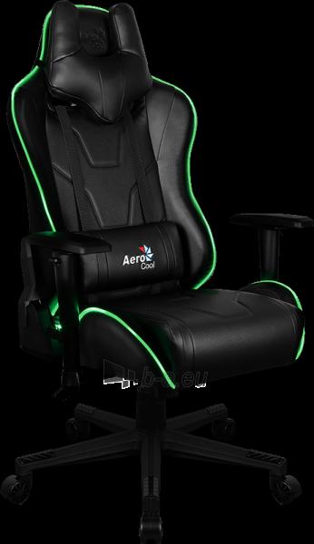 Žaidimų kėdė Aerocool AC-220 AIR RGB / Juoda Paveikslėlis 1 iš 15 310820174126