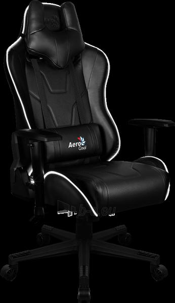 Žaidimų kėdė Aerocool AC-220 AIR RGB / Juoda Paveikslėlis 8 iš 15 310820174126