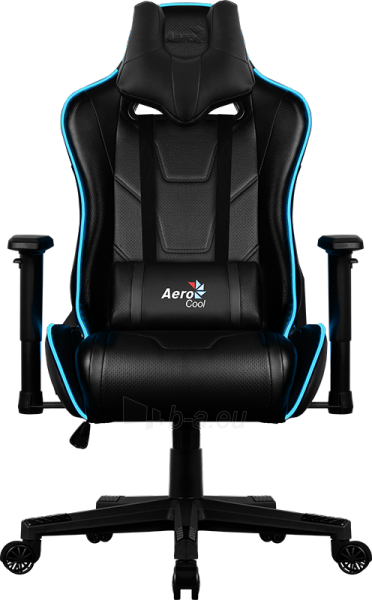 Žaidimų kėdė Aerocool AC-220 AIR RGB / Juoda Paveikslėlis 15 iš 15 310820174126