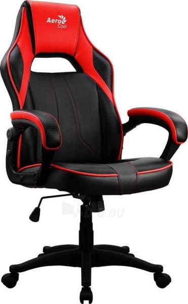 Žaidimų kėdė Aerocool AC-40C AIR Juoda/Raudona Paveikslėlis 1 iš 6 310820172985