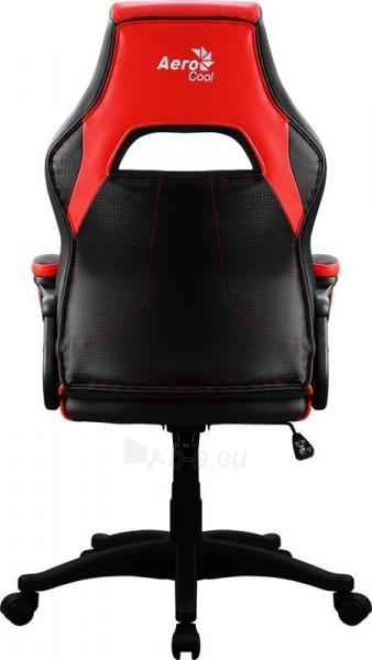 Žaidimų kėdė Aerocool AC-40C AIR Juoda/Raudona Paveikslėlis 3 iš 6 310820172985