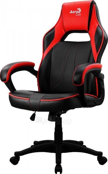 Žaidimų kėdė Aerocool AC-40C AIR Juoda/Raudona Paveikslėlis 5 iš 6 310820172985