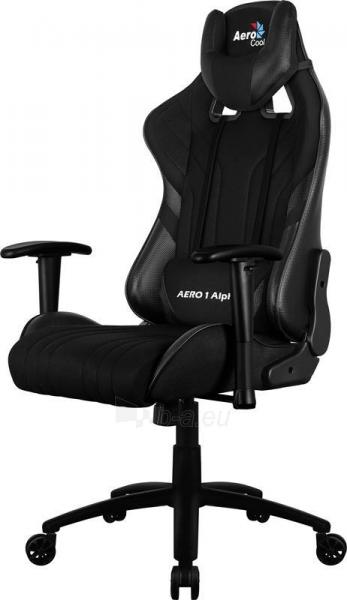 Žaidimų kėdė Aerocool AERO 1 Alpha Juoda Paveikslėlis 7 iš 9 310820172987