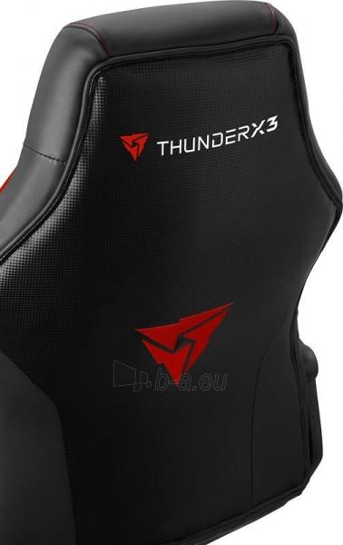 Žaidimų kėdė Aerocool THUNDER3X EC1 AIR Juoda/Raudona Paveikslėlis 5 iš 7 310820173021