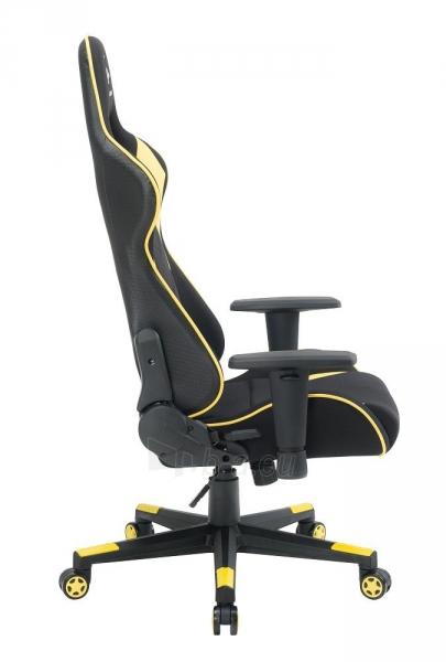Žaidimų kėdė Gembird Gaming chair SCORPION-06, Medžiaginė juoda su raudonai siūlais Paveikslėlis 11 iš 14 310820187936