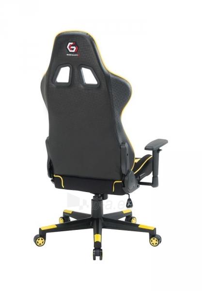 Žaidimų kėdė Gembird Gaming chair SCORPION-06, Medžiaginė juoda su raudonai siūlais Paveikslėlis 10 iš 14 310820187936