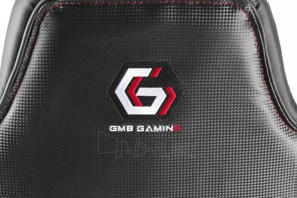 Žaidimų kėdė Gembird HORNET Juoda su raudonomis linijomi Paveikslėlis 6 iš 7 310820156556