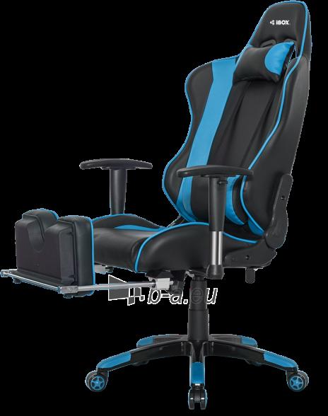 Žaidimų kėdė I-BOX AURORA GT1 GAMING ARMCHAIR BK/BLUE Paveikslėlis 5 iš 9 310820173118