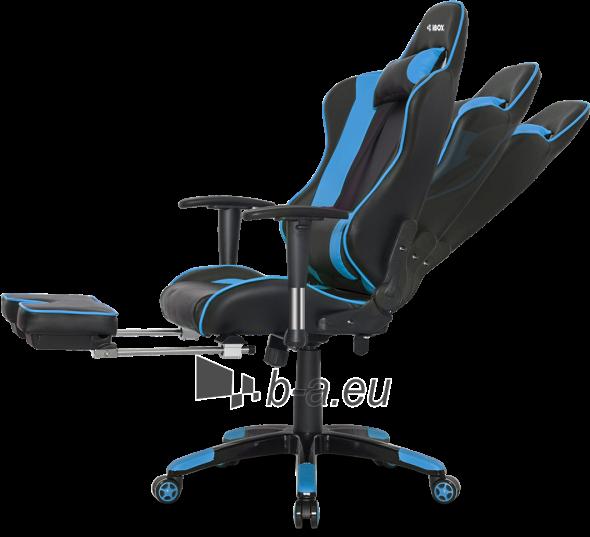 Žaidimų kėdė I-BOX AURORA GT1 GAMING ARMCHAIR BK/BLUE Paveikslėlis 7 iš 9 310820173118