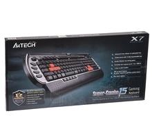 Žaidimų klaviatūra A4Tech XGame X7-G800V USB, US Paveikslėlis 2 iš 2 250255701144