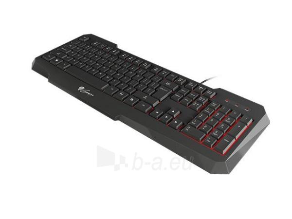 Žaidimų klaviatūra Natec Genesis RX11, pašviestas, juoda USB Paveikslėlis 3 iš 5 250255701405