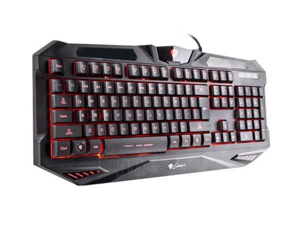 Žaidimų klaviatūra Natec Genesis RX39, Backlight Black USB Paveikslėlis 2 iš 8 250255701325