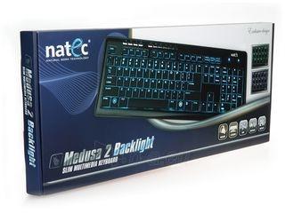 Žaidimų klaviatūra Natec Medusa 2, Backlight, USB Paveikslėlis 3 iš 6 250255701206