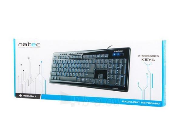 Žaidimų klaviatūra Natec Medusa 2, Backlight, USB Paveikslėlis 6 iš 6 250255701206
