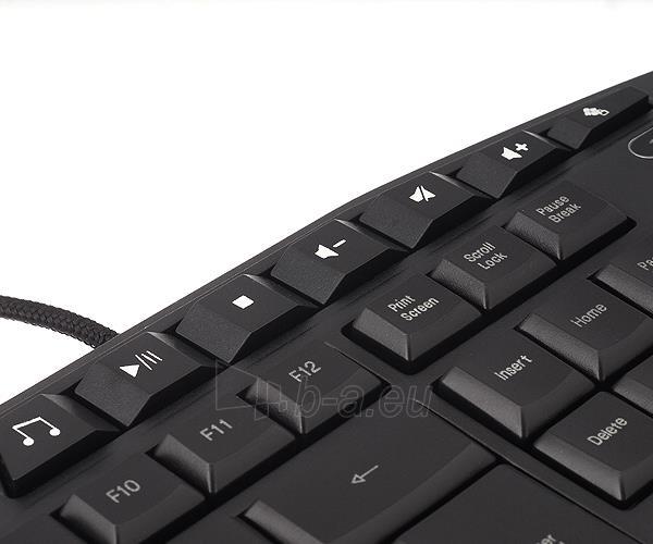 Žaidimų klaviatūra Zalman ZM-K400G Paveikslėlis 8 iš 8 250255701209