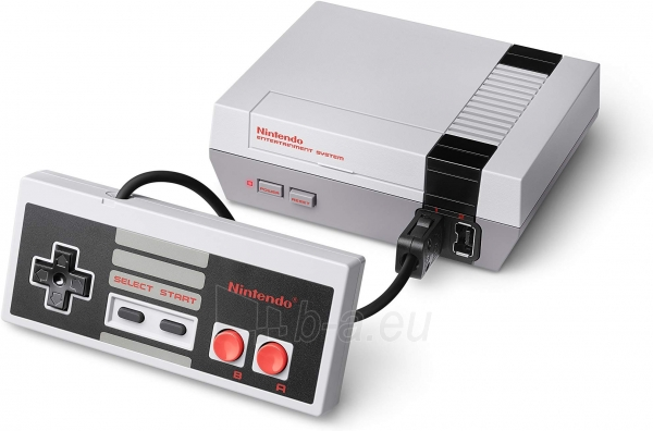 Žaidimų konsolė Nintendo Classic Mini: NES Super Nintendo Entertainment System Paveikslėlis 1 iš 4 310820152391