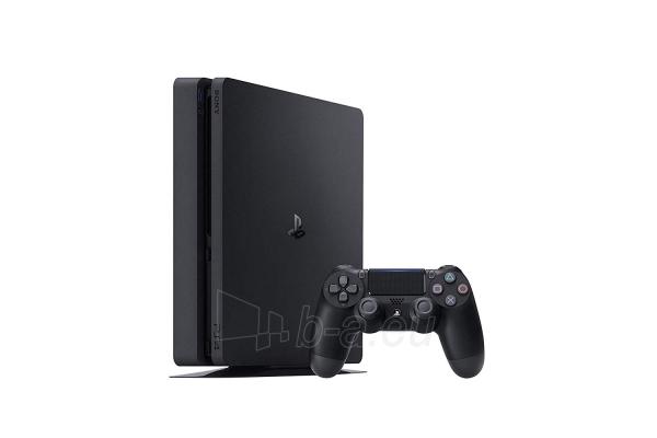 Žaidimų konsolė Sony Playstation 4 Slim 500GB (PS4) Black + Red Dead Redemtion 2 Paveikslėlis 2 iš 6 310820175092