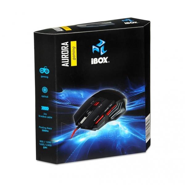 Žaidimų optinė pelė I-BOX AURORA Paveikslėlis 2 iš 10 310820013694