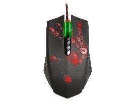 Žaidimų pelė A4Tech Bloody Gaming A60 Blazing USB Metal XGlide Armor Boot Paveikslėlis 3 iš 5 250255031679