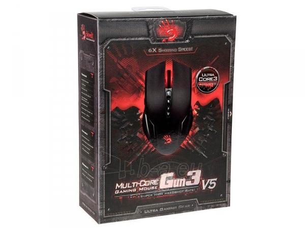 Žaidimų pelė A4Tech Bloody Gaming V5m USB Holeless Engine - Metal Feet Paveikslėlis 2 iš 2 250255031578
