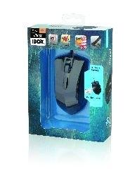 Žaidimų pelė iBOX Ghost, Optinė, USB Paveikslėlis 4 iš 4 250255031429