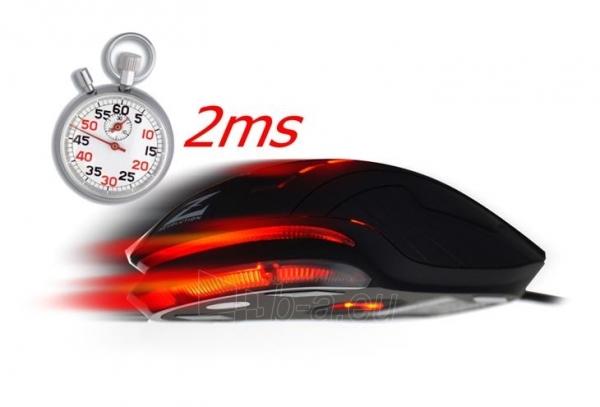 Žaidimų pelė Zalman 2500 DPI Wired ZM-M401R with backlight Paveikslėlis 10 iš 12 250255031431