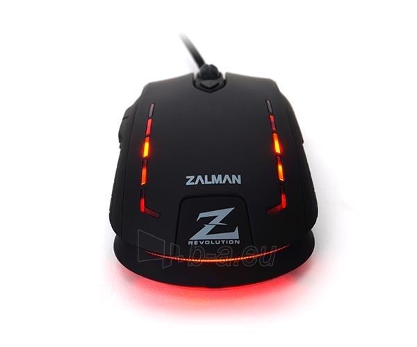 Žaidimų pelė Zalman 2500 DPI Wired ZM-M401R with backlight Paveikslėlis 6 iš 12 250255031431