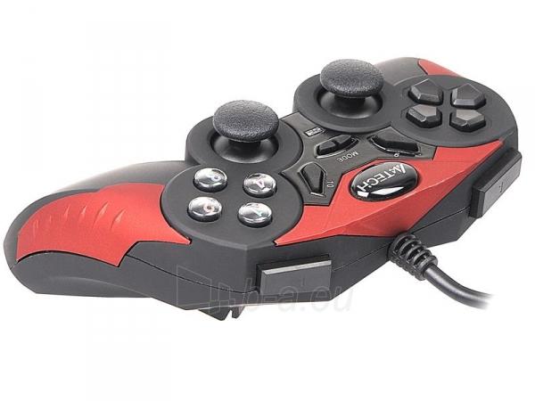 Žaidimų valdiklis A4Tech X7-T2 Redeemer USB/PS2/PS3 Paveikslėlis 3 iš 5 250255210863