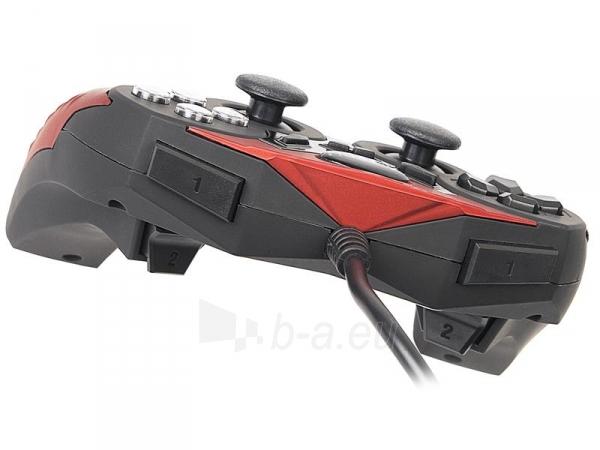 Žaidimų valdiklis A4Tech X7-T2 Redeemer USB/PS2/PS3 Paveikslėlis 4 iš 5 250255210863