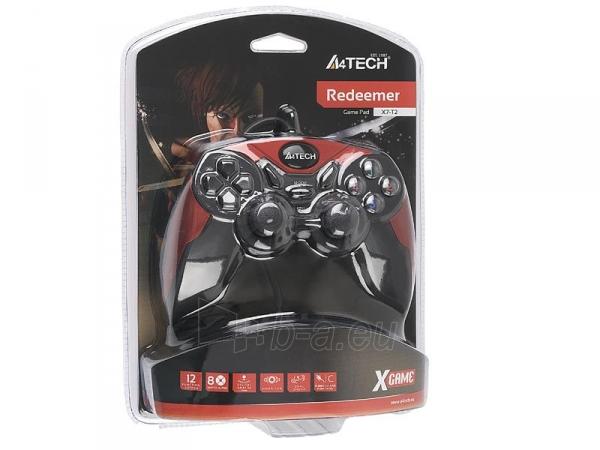 Žaidimų valdiklis A4Tech X7-T2 Redeemer USB/PS2/PS3 Paveikslėlis 5 iš 5 250255210863