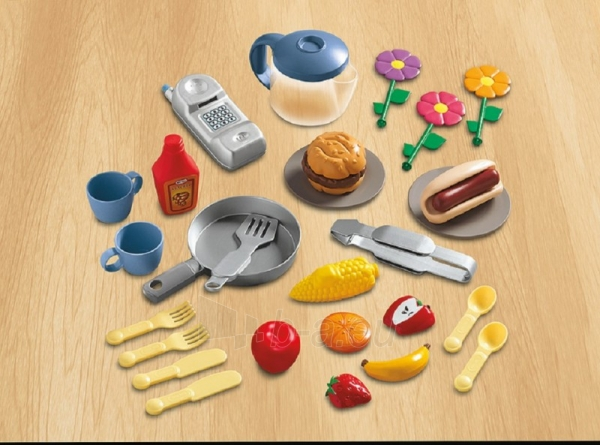 Žaislinė virtuvėlė su griliumi 2 in 1 | Little Tikes Paveikslėlis 1 iš 7 310820005190
