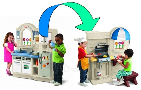 Žaislinė virtuvėlė su griliumi 2 in 1 | Little Tikes Paveikslėlis 4 iš 7 310820005190