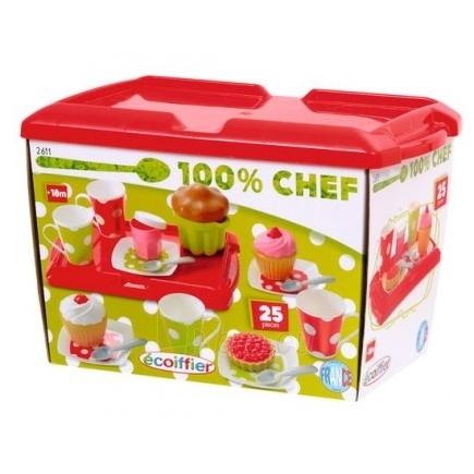 Žaislinis arbatos rinkinys | Ecoiffier Paveikslėlis 1 iš 2 250710901157
