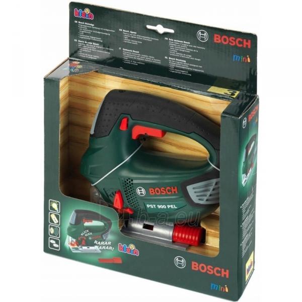 Žaislinis interaktyvus elektrinis pjūklas Bosch   8379   Klein Paveikslėlis 3 iš 3 310820174758