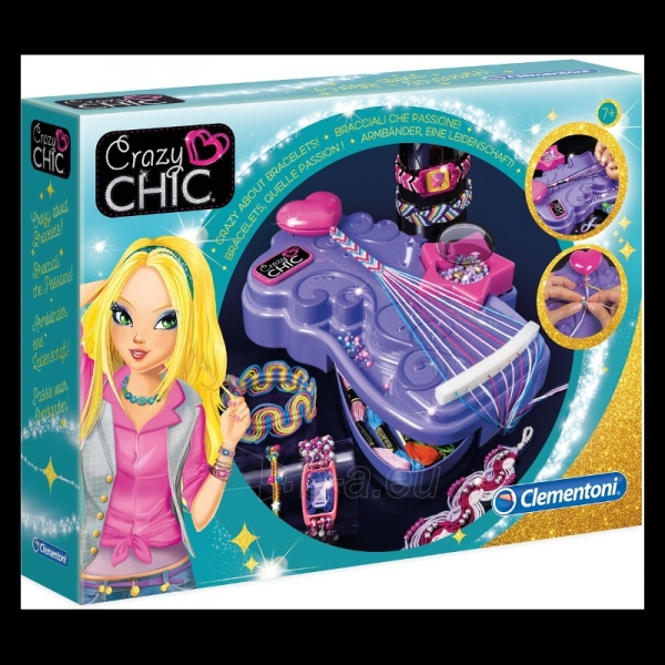 Žaislinis rinkinys Crazy Chic -Bracciali Che Paveikslėlis 1 iš 2 310820165147