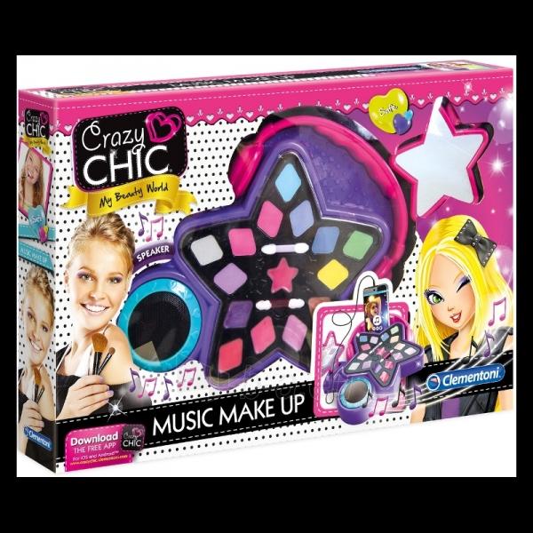 Žaislinis rinkinys Crazy Chic- Music Make Up Paveikslėlis 1 iš 2 310820165142
