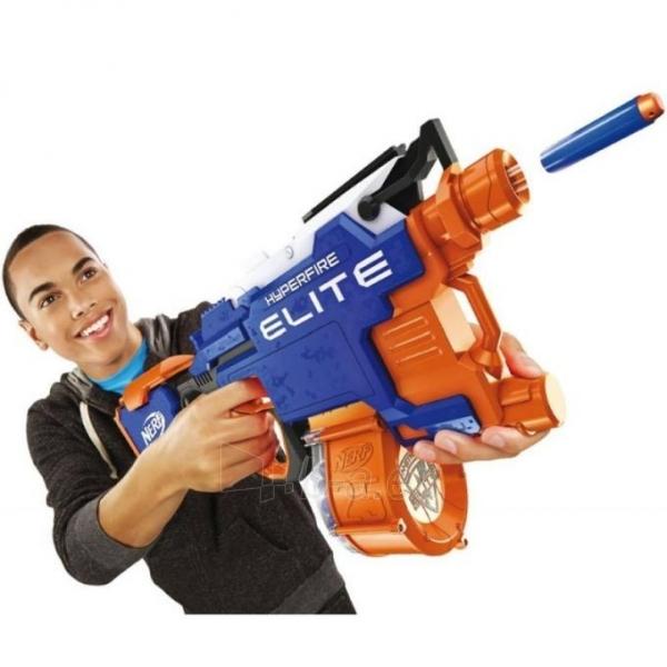 Žaislinis šautuvas B5573 HyperFire Nerf N-Strike Elite HyperFire Blaster HASBRO Paveikslėlis 1 iš 6 310820097287