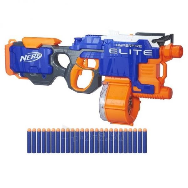 Žaislinis šautuvas B5573 HyperFire Nerf N-Strike Elite HyperFire Blaster HASBRO Paveikslėlis 2 iš 6 310820097287