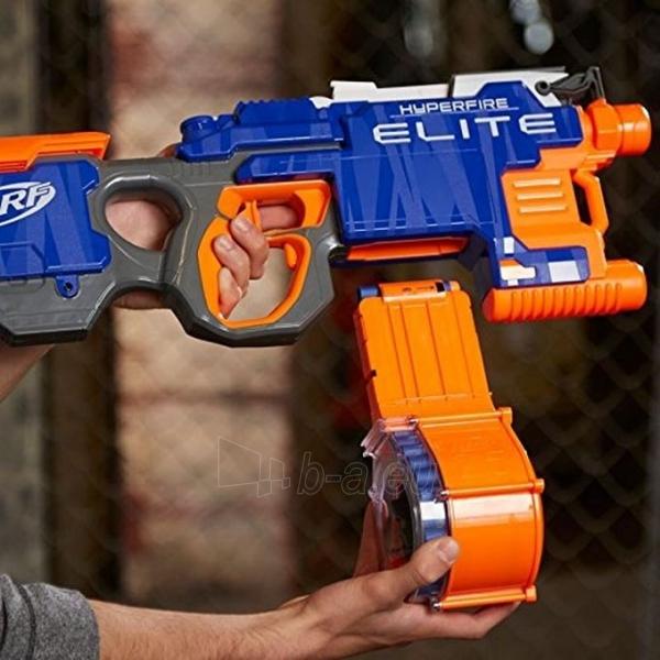 Žaislinis šautuvas B5573 HyperFire Nerf N-Strike Elite HyperFire Blaster HASBRO Paveikslėlis 3 iš 6 310820097287