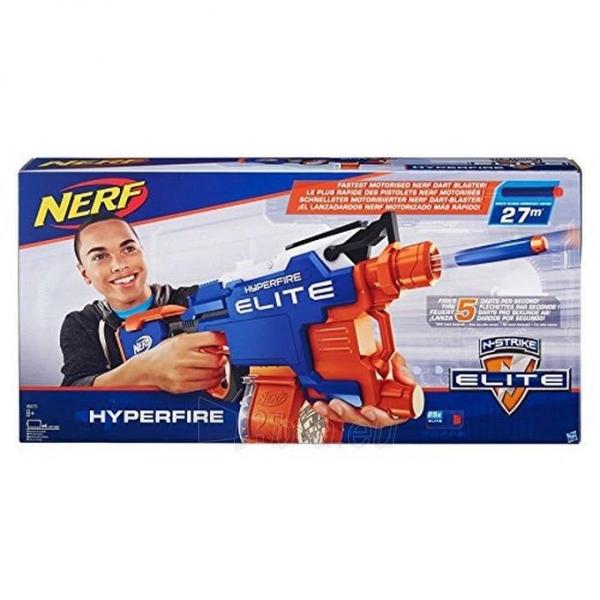 Žaislinis šautuvas B5573 HyperFire Nerf N-Strike Elite HyperFire Blaster HASBRO Paveikslėlis 5 iš 6 310820097287