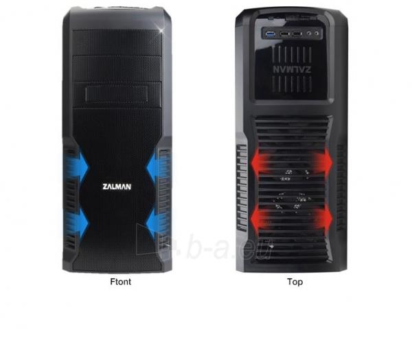 Zalman Chasis Z3 PLUS Midi Tower (with window, without PSU, USB 3.0) Paveikslėlis 3 iš 13 250255900910