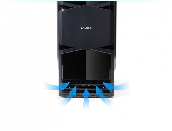 Zalman Chasis ZM-T3 Mini Tower (without PSU, USB 3.0) Paveikslėlis 3 iš 13 250255900913