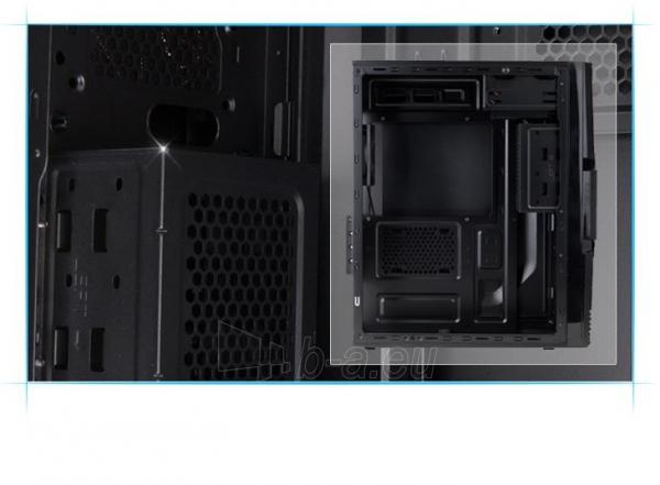 Zalman Chasis ZM-T3 Mini Tower (without PSU, USB 3.0) Paveikslėlis 2 iš 13 250255900913