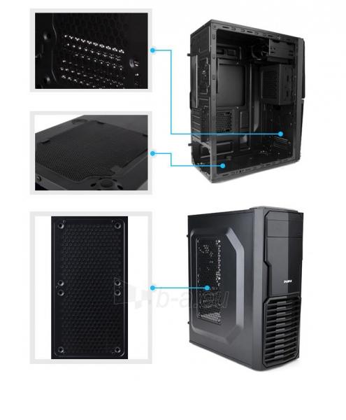 Zalman Chasis ZM-T4 Mini Tower (without PSU, USB 3.0) Paveikslėlis 10 iš 12 250255900965